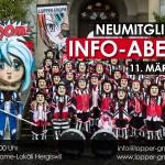 Neumitglieder Info-Abend 2016